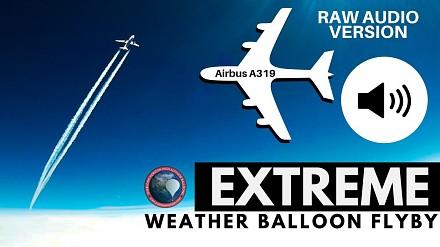 Dźwięk samolotu przelatującego na wysokości ponad 10 tys. metrów