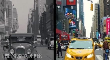 80 lat Nowego Jorku na dwóch ruchomych obrazkach