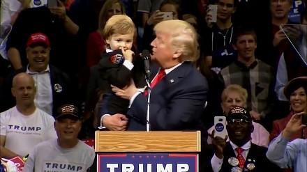Nie ma to jak ładne przywitanie prezydenta Trumpa