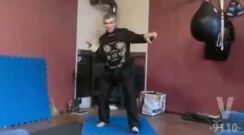 Rosyjska szkoła walki - trening na gruszce