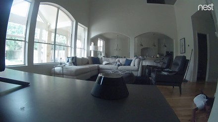 Ostatnie 15 sekund zarejestrowane przez kamerę w domu
