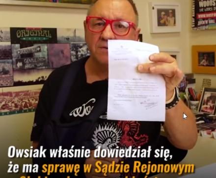 Jurek Owsiak przed sądem za przeklinanie publiczne