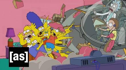 Rick & Morty - Morty zabija Simpsonów!