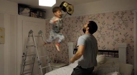 Wrestling ojca z synem, czyli męska zabawa na 102