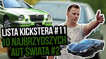 Kolejnych 10 najbrzydszych aut świata wg Kickstera