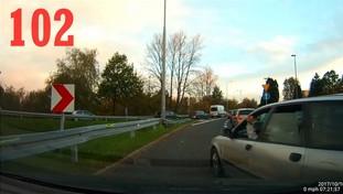 Zawsze znajdzie się jakiś szeryf, czyli tak jeżdżą polscy kierowcy