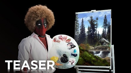 Bob Ross w teaserze nowego Deadpoola