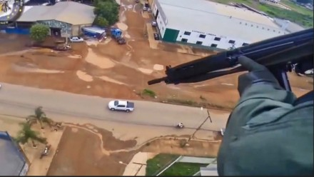 Pościg helikopterem w Brazylii za przestępcą
