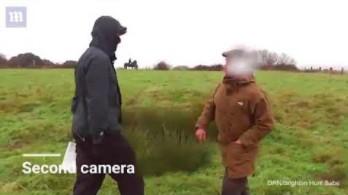 """Brytyjka jadąca konno pokazała, jak się postępuje z """"ekoterrorystami"""""""