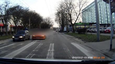 Kierowca rodem z GTA szaleje w Lublinie