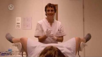 Przychodzi pani do lekarza ginekologa