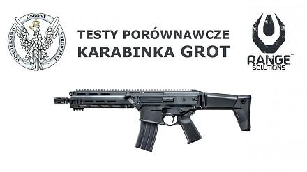 Testy porównawcze polskiego karabinu MSBS GROT