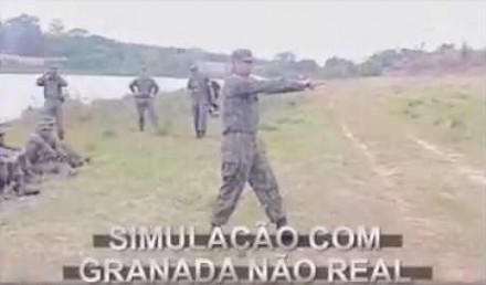 Szkolenie z rzutu granatem