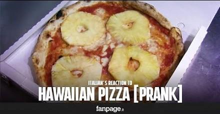 Reakcje Neapolitańczyków na pizzę z ananasem