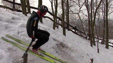 Amatorskie skoki na Rudzkiej Górze
