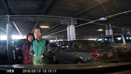 Kradzież miejsca parkingowego - poziom Azjatka