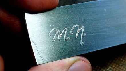 Jak w prosty sposób wykonać własne logo na kawałku metalu