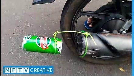 Puszka do wydechu, czyli bądź kreatywny!