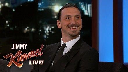 Zlatan Ibrahimović w Jimmy Kimmel Live!