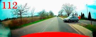 Trafiony mercedesem, czyli Polscy Kierowcy #112