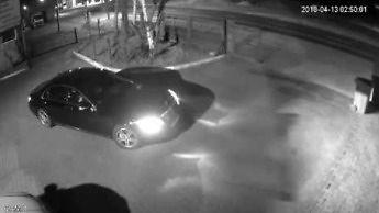 Kradzież mercedesa S500 w Krotoszynie