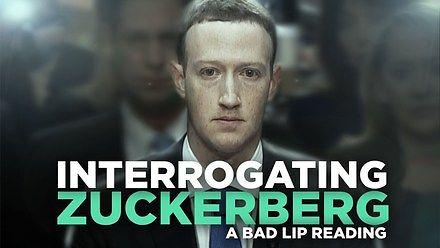 Przesłuchanie Zuckerberga, gdy próbujesz czytać tylko z ruchu ust