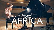 """Nietypowe wykonanie """"Africa"""" zespołu Toto"""