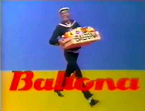 Reklama soków Baltona
