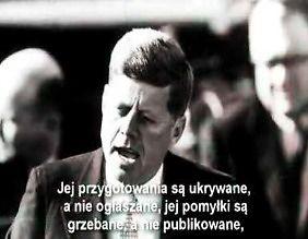 Przemówienie które zabiło prezydenta Kennedy'ego