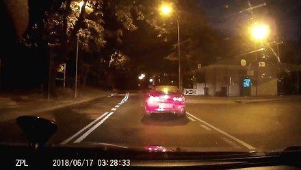 Mazda z pijanym kierowcą - szybka i zdecydowana reakcja policji