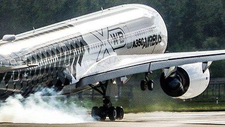 Airbus A350 startuje niemal pionowo