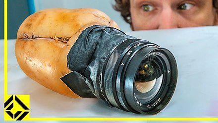 Filmowane ziemniakiem