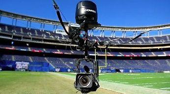 Kojarzysz te ujęcia z powietrza? Tak działa SkyCam na stadionach