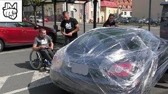 Czeska kara za parkowanie na miejscu dla inwalidów