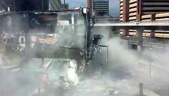 Zawalenie się centrum handlowego w Meksyku