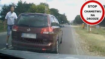 Krewki kierowca w Oplu - strażnik polskich dróg