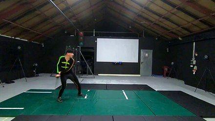 Trening twórcy wiedźmińskiego stylu walki