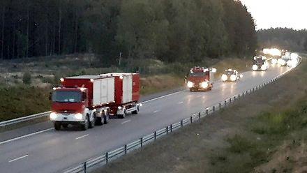 Szwedzi oszaleli na punkcie polskich strażaków