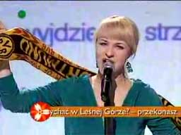 Wykonawczyni hymnu polskiego na Euro 2012
