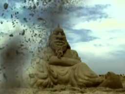 Wybuchy piaskowych budowli
