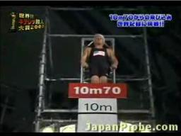 Rekord w skoku do wody na brzuch