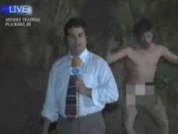 Ekshibicjonista i reportaż z jaskini