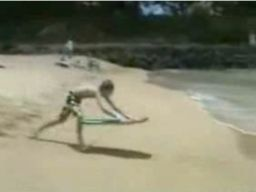 Utalentowany surfer