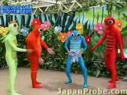 Japoński teleturniej z nurkowaniem