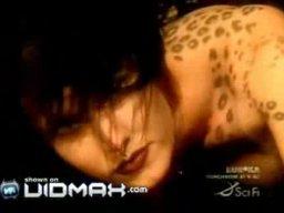 Kobieta leopard