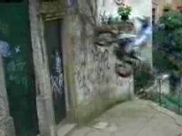 Miejski magik motocyklowy