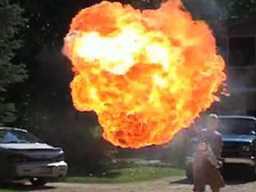 Miotacze ognia i inne wybuchy