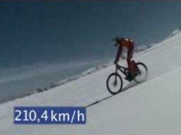 Nowy rekord świata w jeździe na rowerze