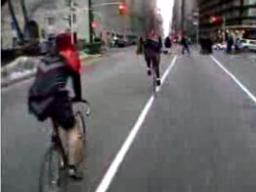 Kurierzy rowerowi z Nowego Jorku