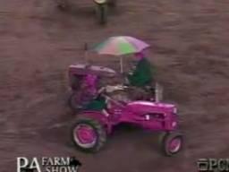 Balet różowych traktorów